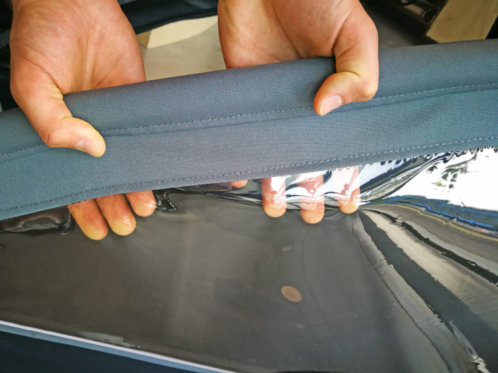 Stoffe und Folien prüfen, Bild: www.croozer.de | pd-f