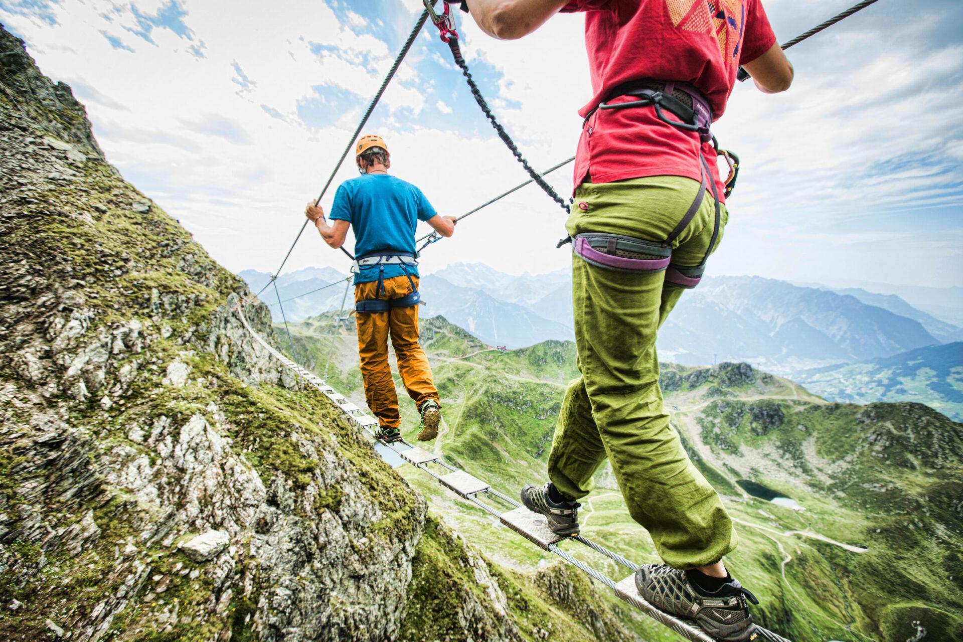Klettern - © Silvretta Montafon   Stefan Kothner