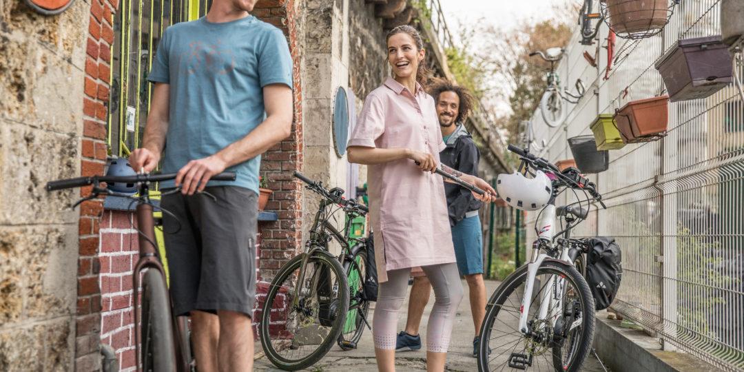Für 2020 bietet Hersteller Vaude eine neue Bekleidungskollektion an. Bio-Baumwolle, Recycling-Polyester und etwas Elasthan sind die Bestandteile, hoher Nutzwert und viel Schick das angestrebte Ergebnis. Quelle: www.vaude.com | pd-f