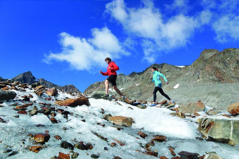 Unterwegs mit den Snowline Chainsen Grödeln, Bild: Kochalpin