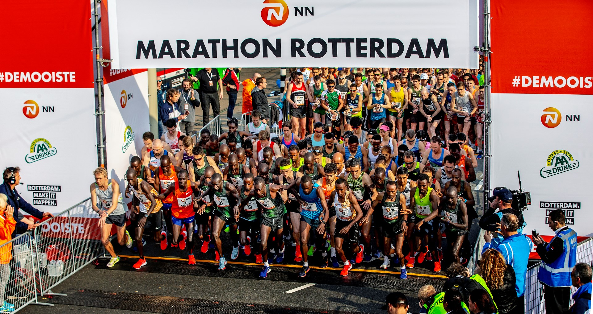 Rotterdam Marathon, Bild: Pim Ra