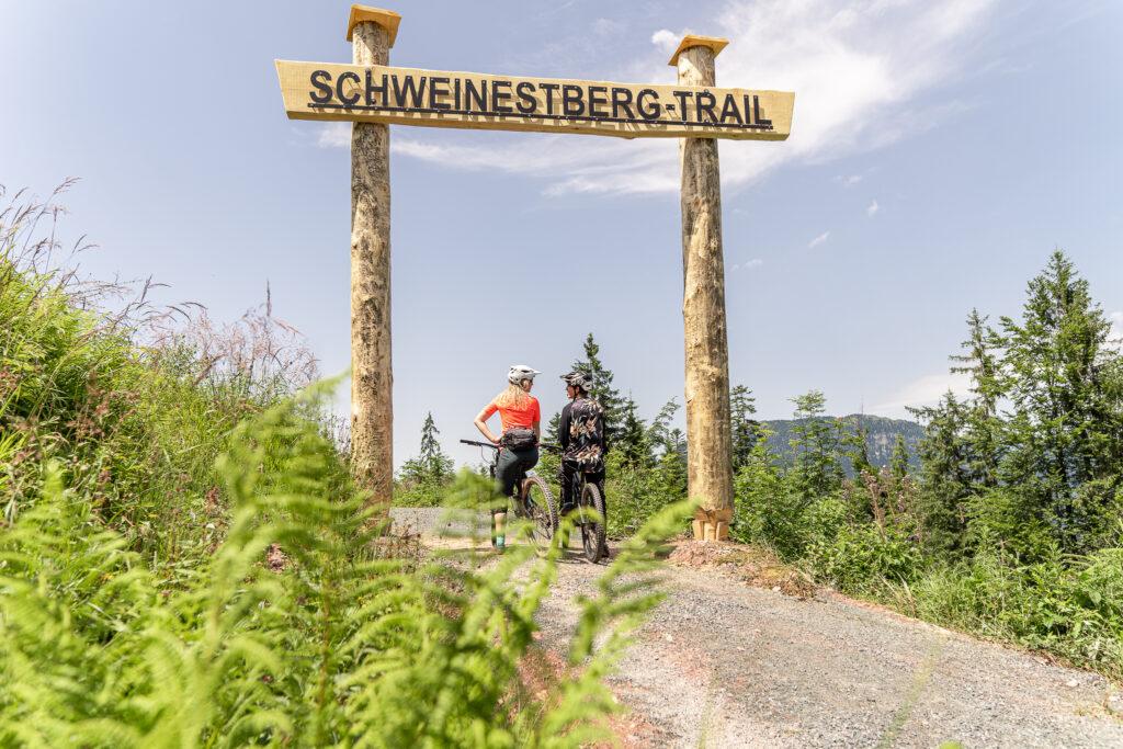 Der Schweinestbergtrail in Fieberbrunn öffnet am 13. August, Copyright: Yvonne Hörl